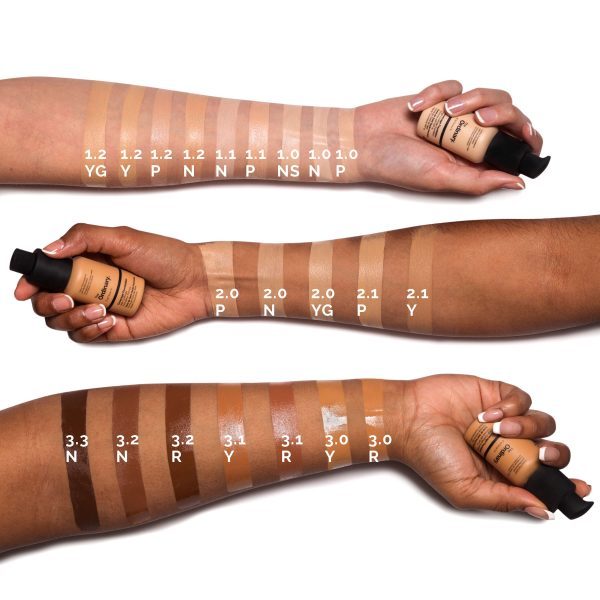 THE ORDINARY Serum Foundation Swatches