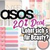 ASOS Sale | 20% Rabatt Deal | Beauty