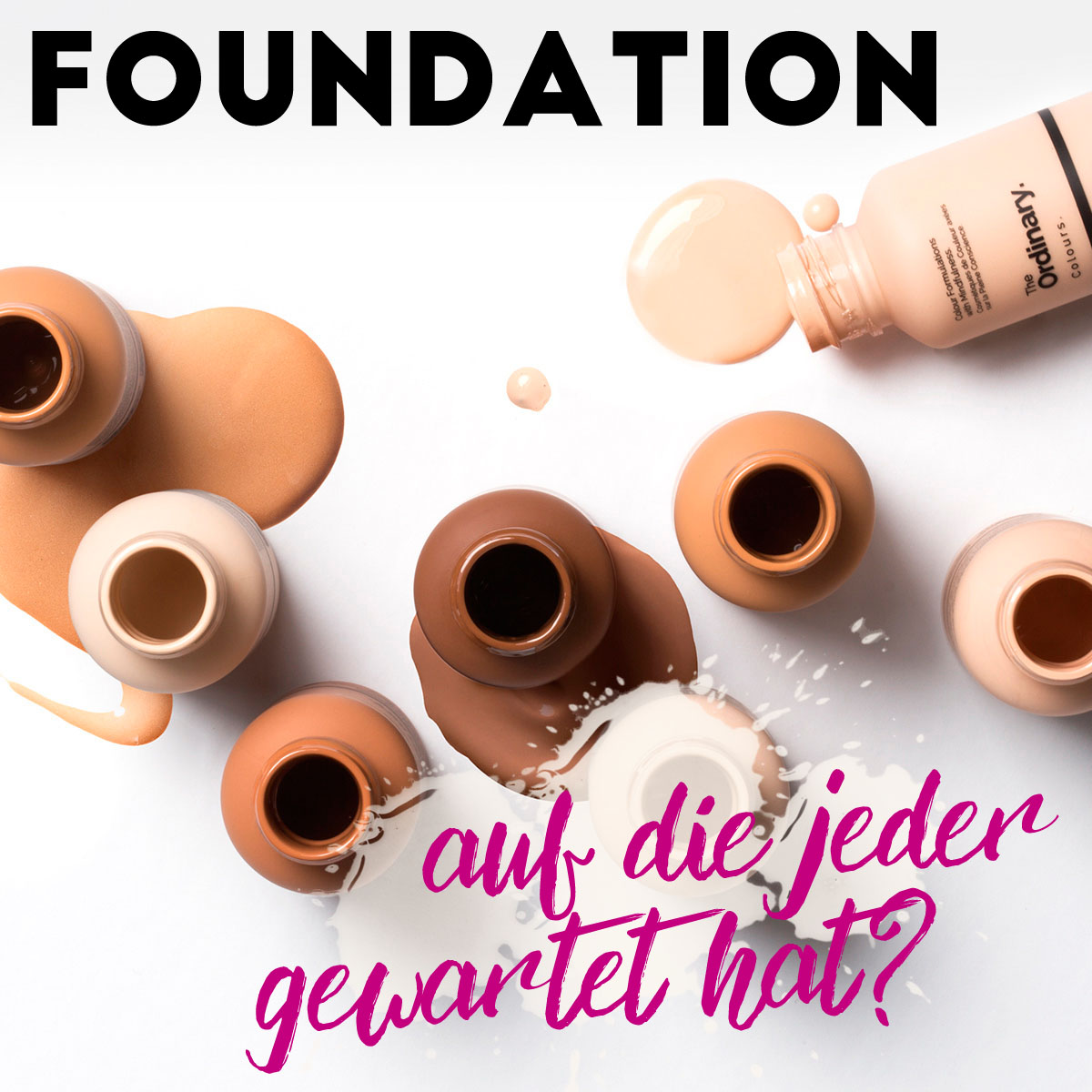 THE ORDINARY Foundation Colour Makeup DECIEM kaufen Deutschland