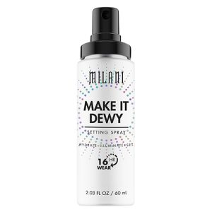 Milani Make It Dewy Setting Spray Hydrate Illuminate & Set