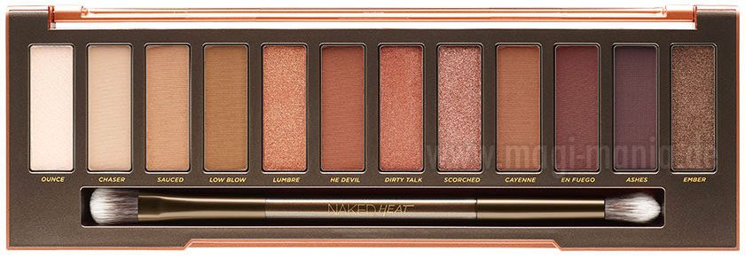 URBAN DECAY Naked Head Palette 2017 Shades red Eyeshadow