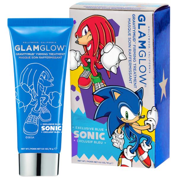 GLAMGLOW Sonic Blue Gravitymud Knuckles