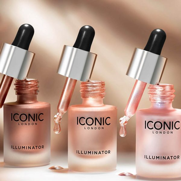 ICONIC LONDON Illuminator Liquid Highlighter Fluid Promo
