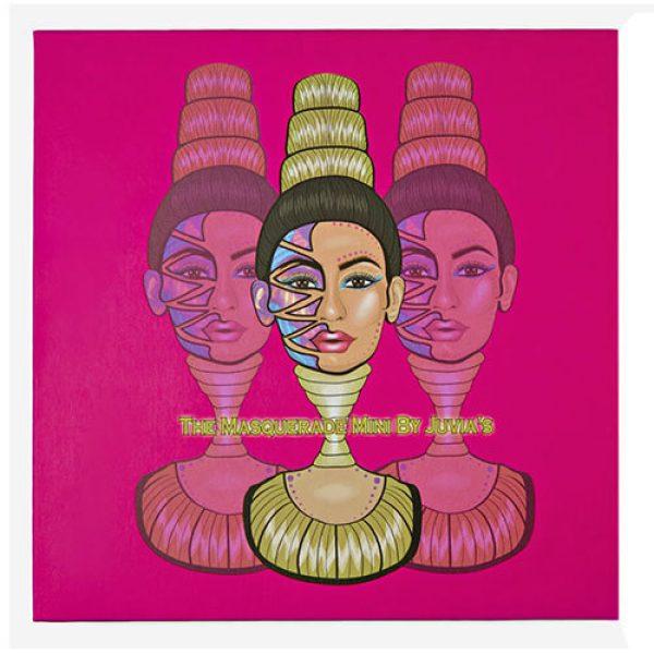 Juvias Place Mini Masquerade Palette Cover