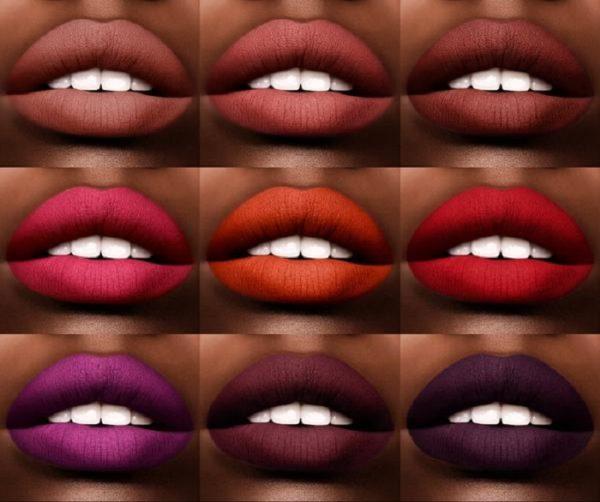 PAT McGRATH LABS MatteTrance Lipstick Swatches Dark