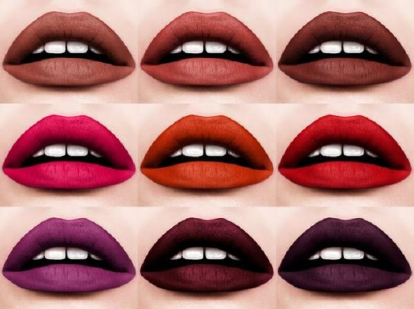 PAT McGRATH LABS MatteTrance Lipstick Swatches Light