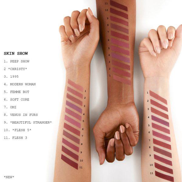 PAT McGRATH LABS MatteTrance Lipstick Swatches Nudes Neutrals Browns