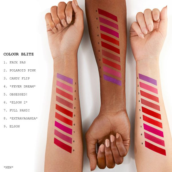 PAT McGRATH LABS MatteTrance Lipstick Swatches Pinks Violets