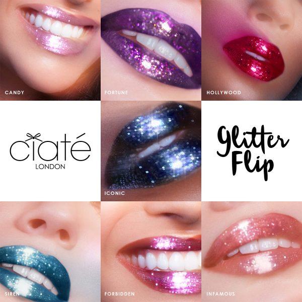 CIATE Glitter Flip Promo