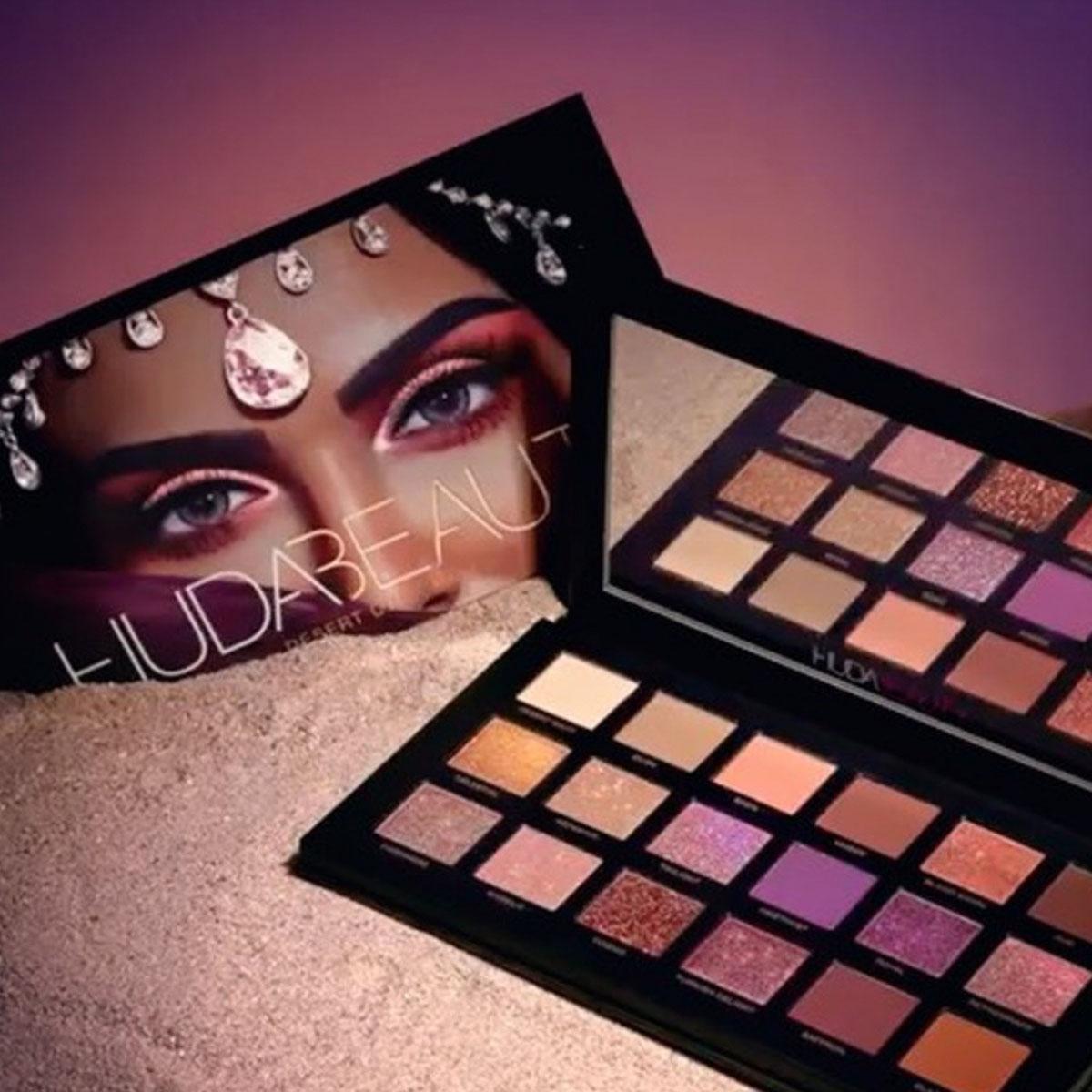 Huda Beauty Desert Dusk Eyeshadow Palette Review & Swatches