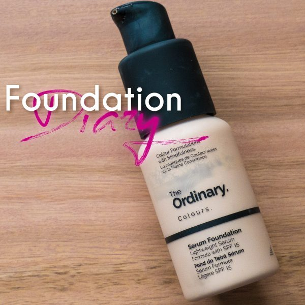 THE ORDINARY Serum Foundation Review deutsch 1.0N Foundation Diary