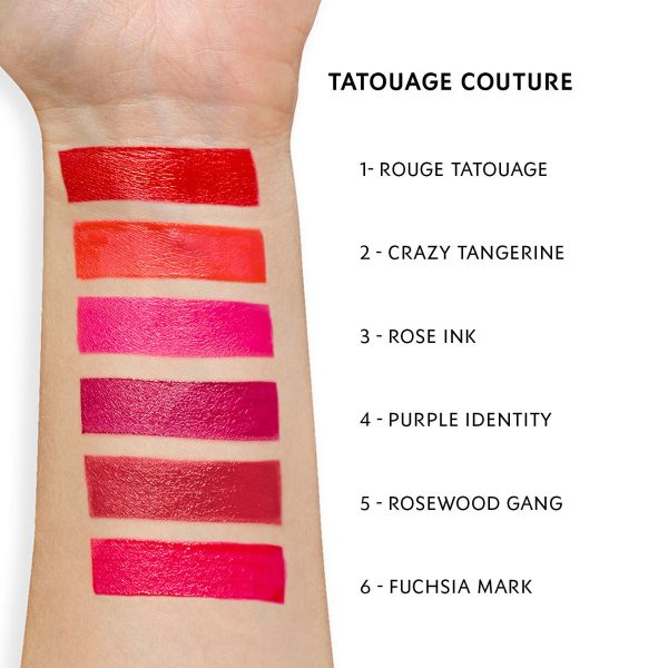 YVES SAINT LAURENT Tatouage Couture Matte Stain Liquid Lipstick Swatch 1