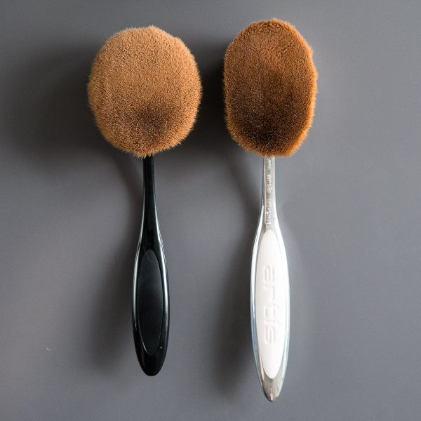 ARTIS BRUSH Oval 8 Elite Mirror vs Dupe China Amazon
