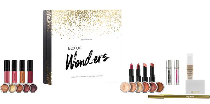 BARE MINERALS Box of Wonders Adventskalender 2017 Inhalt