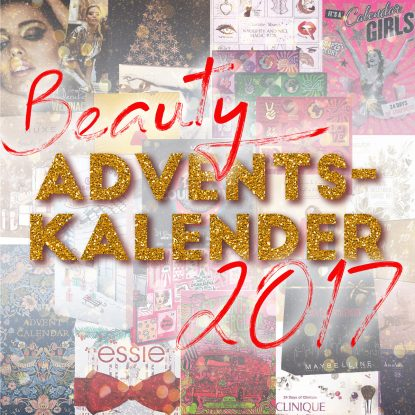 Beauty Adventskalender 2017 Makeup Kosmetik Schminke