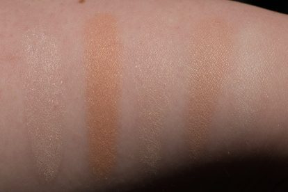 STUDIO LIGHT: HOURGLASS Ambient Lighting Powder Swatches Reviews Demo Strobe Ethereal Light Swatches