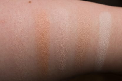 SHADOW: HOURGLASS Ambient Lighting Powder Swatches Reviews Demo Strobe Ethereal Light Swatches