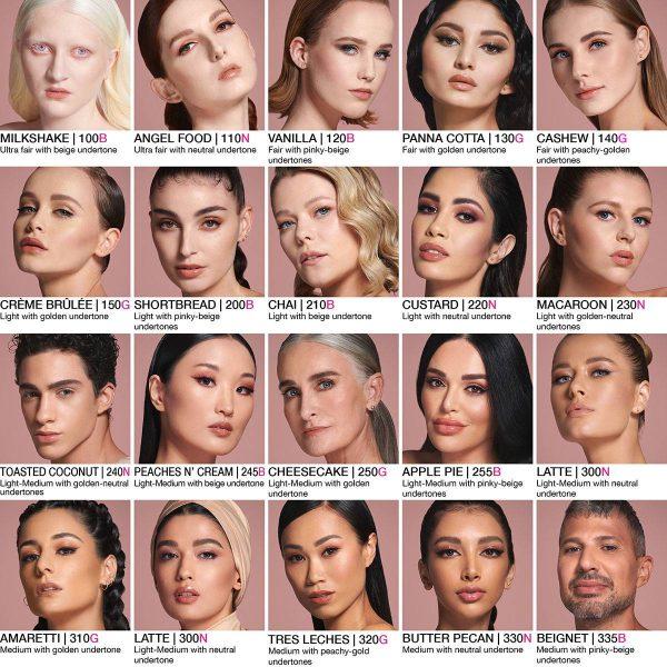HUDA BEAUTY FauxFilter Foundation Shades