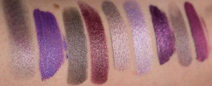 Metallic Purple Lipstick Swatches Lampe