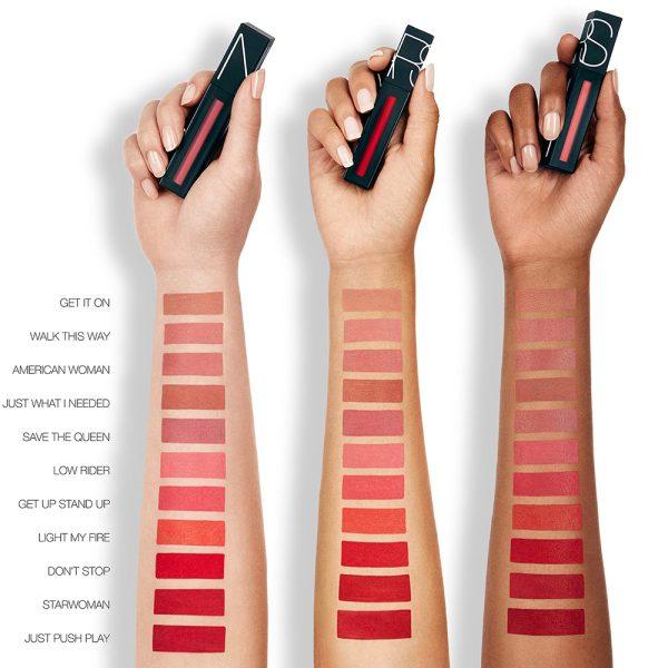 NARS Powermatte Lip Pigment Liquid Lipstick Swatches 1