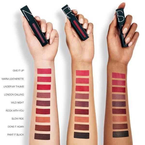 NARS Powermatte Lip Pigment Liquid Lipstick Swatches 2