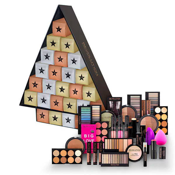 MAKEUP REVOLUTION Christmas Tree Adventskalender 2017 Inhalt