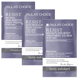 PAULAS CHOICE REsist BodySamples