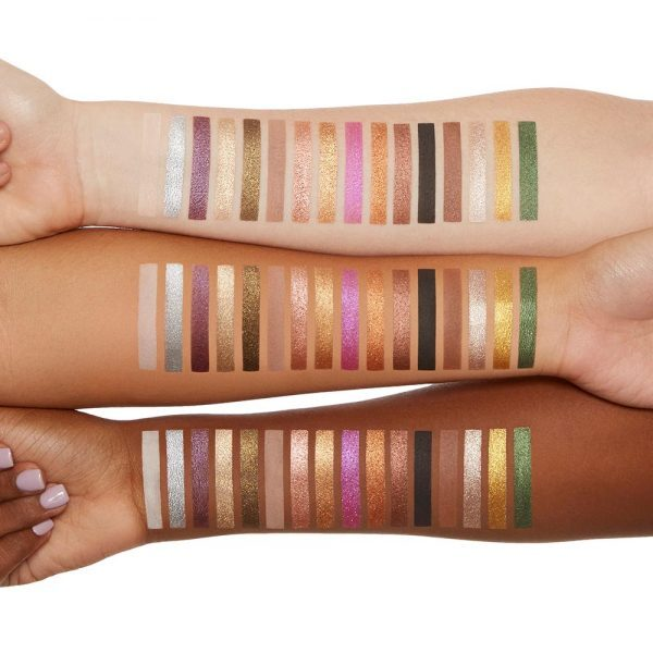 TOO FACED Chocolate Gold Eyeshadow Palette Swatches