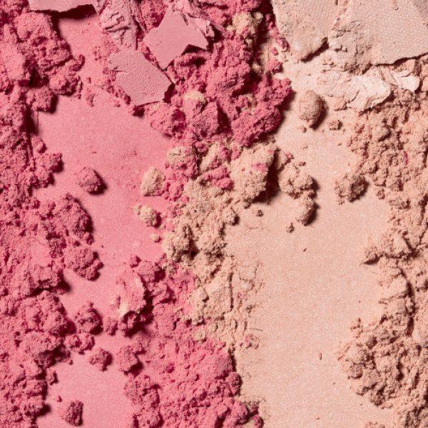 JOUER Flirt Blush Bouquet Swatch Dual Rouge Duo Palette