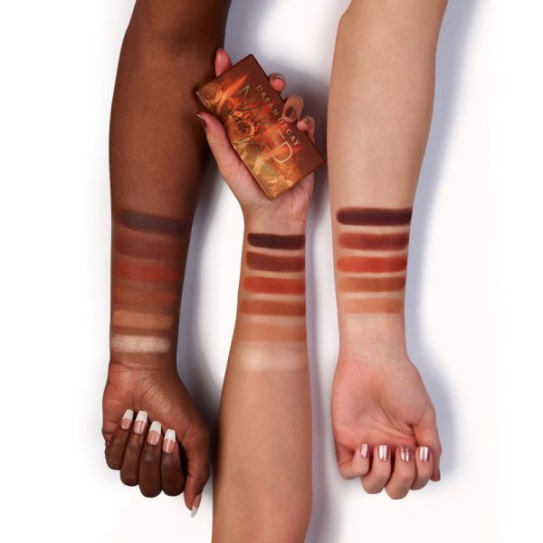 URBAN DECAY Naked Petite Heat Palette Swatches Deutschland