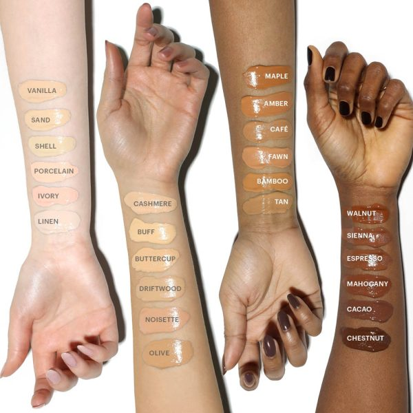 BECCA Ultimate Coverage 24 Hour Foundation Swatches