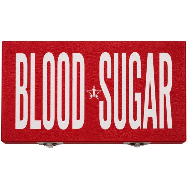 Jeffree Star Blood Sugar Eyeshadow Palette Packaging