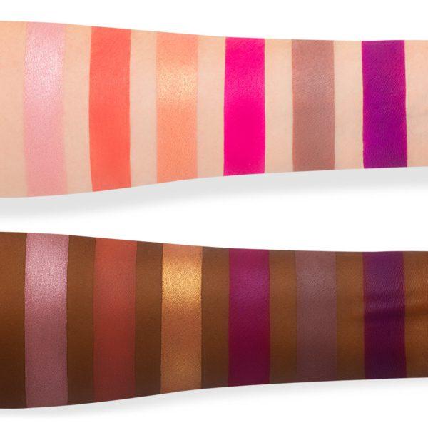 Jeffree Star Blood Sugar Eyeshadow Palette Swatches medium