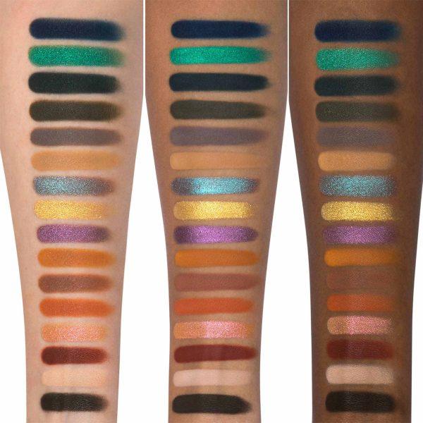KAT VON D 10th Anniversary Eyeshadow Palette Swatches