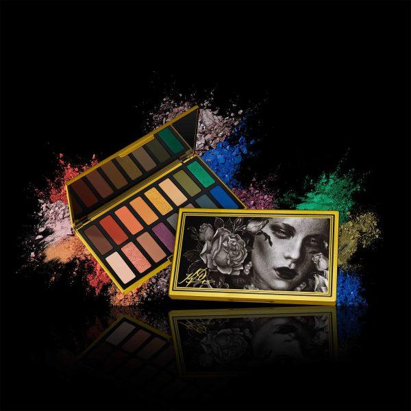 KAT VON D 10th Anniversary Eyeshadow Palette Visual