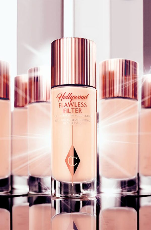 CHARLOTTE TILBURY Hollywood Flawless Filter Liquid Highlighter Primer Glow Ambient