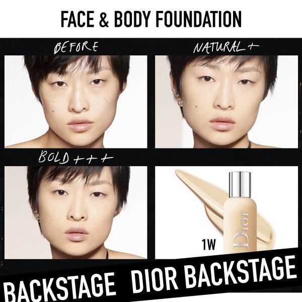 DIOR Backstage Face Body Foundation Demo