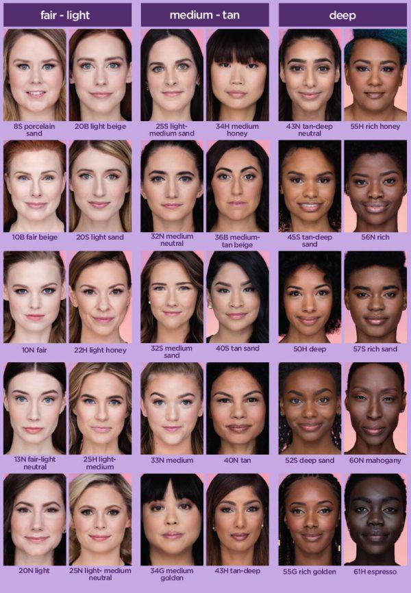 TARTE Creaseless Under Eye Concealer Shades Farben Colors Nuancen Vergleich