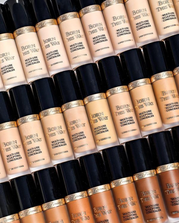TOO FACED Born This Way Super Coverage Multi-Use Sculpting Concealer Shade Range