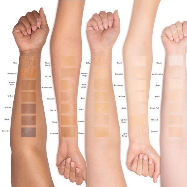 TOO FACED Born This Way Super Coverage Multi Use Sculpting Concealer Swatches