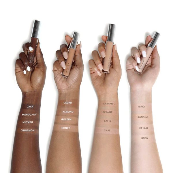 BECCA Ultimate Coverage Longwear Concealer Swatches Farbvergleich Color Comparison