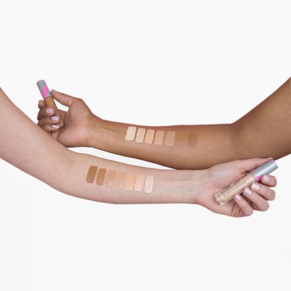 FIRST AID BEAUTY Hello FAB Bendy Avocado Concealer Swatches