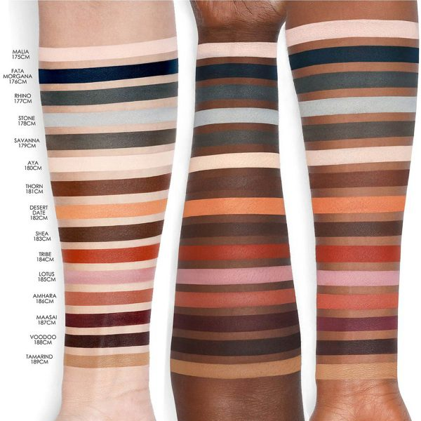 NATASHA DENONA Safari Palette Eyeshadow Swatches