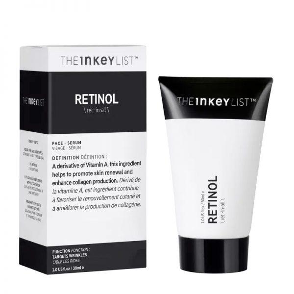 THE INKEY LIST Retinol Serum Packaging