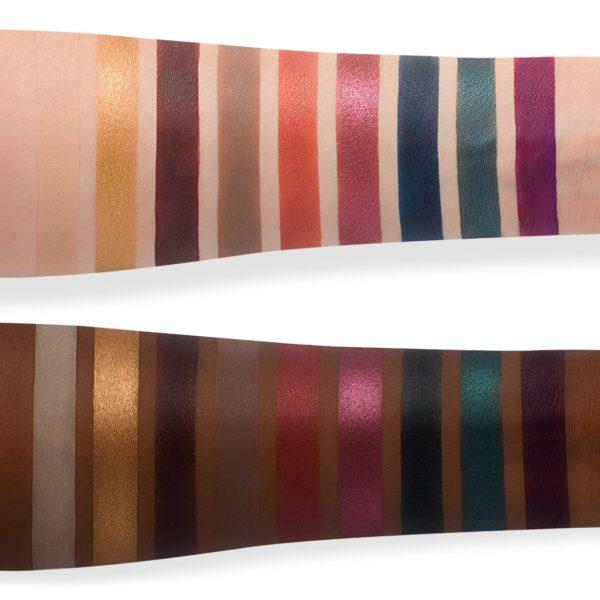 VISEART Libertine Eyeshadow Palette Swatches