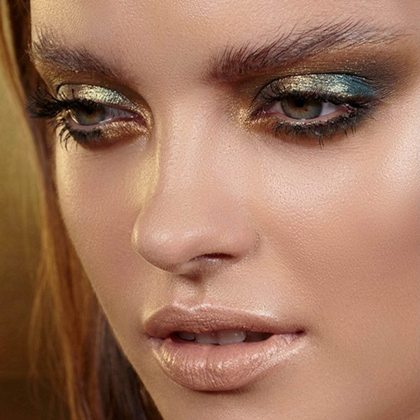 NATASHA DENONA Gold Palette Eyeshadow Lidschattenpalette Look 1