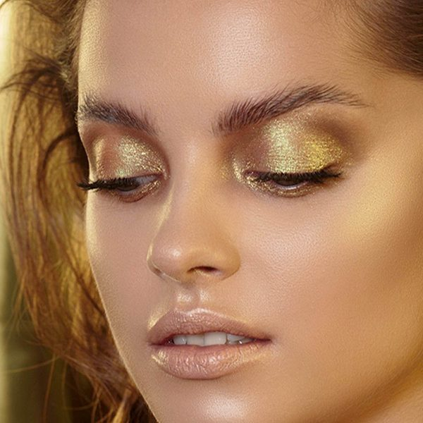 NATASHA DENONA Gold Palette Eyeshadow Lidschattenpalette Look 2