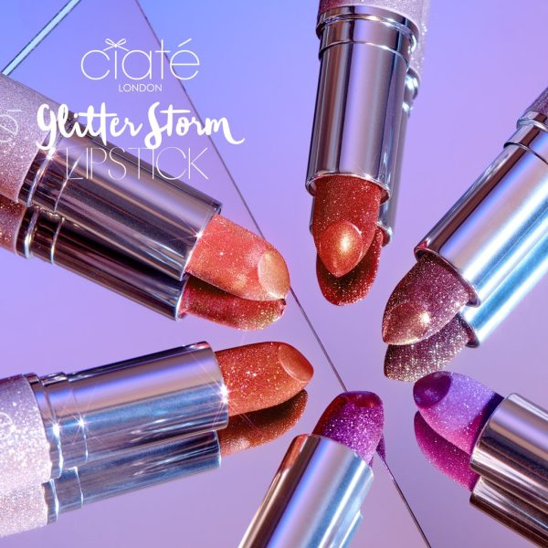 CIATE LONDON Glitter Storm Lipstick Collection 2019