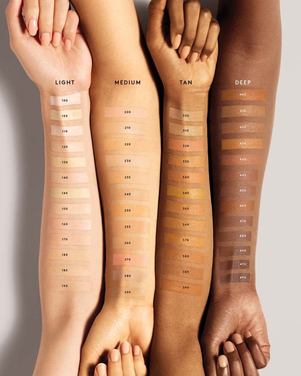 FENTY BEAUTY Pro Filtr Instant Retouch Concealer Swatches