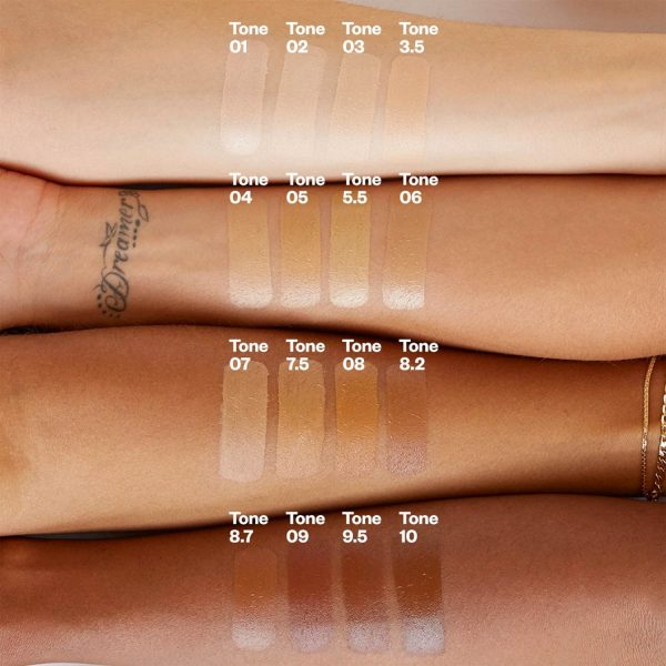 KOSAS Tinted Face Oil Swatches Colors Shades welche Farbe Farbvergleich Teint Nuancen